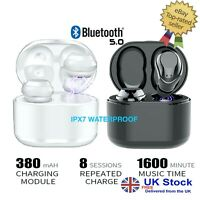 Bluetooth 5 Headset TWS Wireless Earphones - True Stereo -ALL BLUETOOTH DEVICES