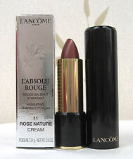 Lancome L`absolue Rouge Cream Lipstick (11) Rose Nature Cream  BNIB UK FREEPOST