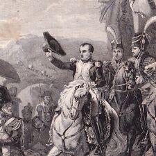Napoléon Bonaparte Rend Hommage aux Blessés  Bataille d'Ulm Jean-Baptiste Debret