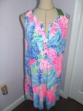 "LILLY PULITZER   Essie Dress ""BEACH PLEASE""  Size XL  NWT"