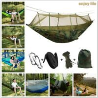 Ultralight Mosquito Net Parachute Hammock with Anti-mosquito bites for Camping