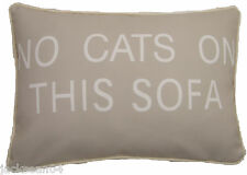 "FILLED EVANS LICHFIELD NO CATS ON THIS SOFA MADE IN THE UK CUSHION 18"" X 13"""
