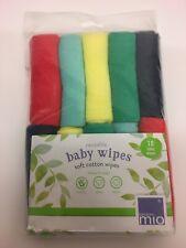 Bambino Mio Paños Reutilizables-Arco Iris Colores Lavable Bebé Paños. a ESTRENAR.