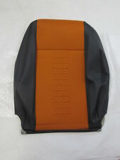 71748599 NEW GENUINE FIAT PANDA 2003-2009 FRONT SEAT BACK COVER ORANGE