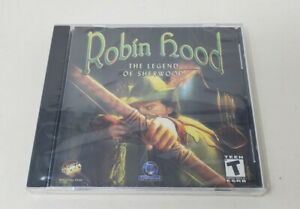 Robin Hood The Legend of Sherwood PC Game 2002 Brand New Wanadoo Edition