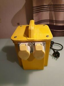 3.3 kVa Site Transformer 240V 13Amp Plug - 110V