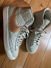 NIKE Womens BLAZER MidRise Leather Quilted Size 3.5UK
