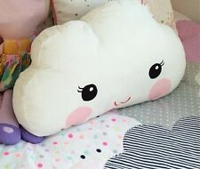 Clouds Pillow Cushion Big Eyes and Smile Sofa Bedroom Decor Plush Toy for Baby
