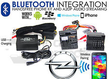 Opel Bluetooth streaming adapter hands-free calls CTAOPBT001 AUX iPhone Samsung-