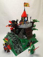 Lego Castle 6082 Fire Breathing Fortress Drachenburg Ritter Komplett
