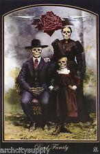 Poster : Fantasy: Dead Family Portrait - Skeleton Family- Free Ship #3154 Lp35 P