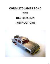 Corgi 270 -  James Bond Color Restoration Instructions