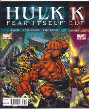 (2011) HULK #37 AND #38 RED HULK VS THING BATTLE! MODOK! FEAR ITSELF TIE-INS!