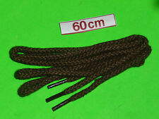 SHOELACES 60CM HIKER DARK BROWN  LACES DRESS SHOES *IN AUSTRALIA* SHOE LACES
