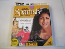 Instant Spanish 5 Cd-Rom Deluxe Edition - The Euro Method In The Box - Tub Rrrr