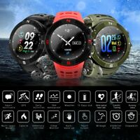 "NO.1 F18 Smart Watch IP68 Waterproof Heart Rate Monitor Sport Wristband GPS 1.3"""