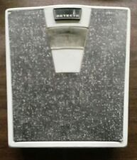 Detecto Royal Bathroom Floor Scale White Mid Century Retro 1960's