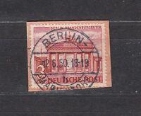 Luxus Berlin Mi-Nr. 59 zentrisch gestempelt Berlin auf Briefstück