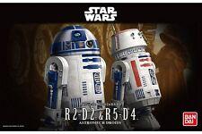 Star Wars Plastic Model Kit 1/12 R2-D2 & R5-D4 Bandai Japan NEW **