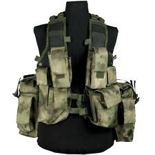 Mil-Tec Esercito Sudafricano Assalto Tattico Combat Vest Regolabile Mil-Tac Fg