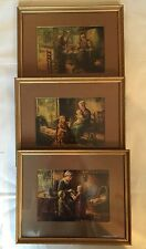 3 SET OF CORNELIS ZWAAN PICTURES FRAME & MATTED