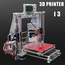 Acrylic Reprap Prusa Geeetech i3 3D Imprimante Printer MK8 Extruder MK2A Heatbed
