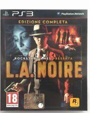 Gioco PS3 L.A. Noire - Edizione Completa - Rockstar Games Playstation 3 Usato