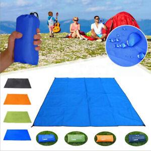 Waterproof Beach Blanket Mat Picnic Mat Outdoor Sand Proof Camping Pad Large