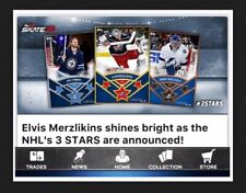 3 STARS OF THE WEEK SET-MERZLIKINS/CONNOR/VASILEVSKIY FEB 03-09 TOPPS SKATE 20