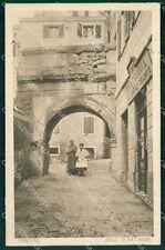 Trieste Città Arco di Riccardo cartolina QT3045