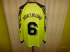 Borussia dortmund nike manga larga Deutscher Meister camiseta 1994/95 + nº 6 talla M-L