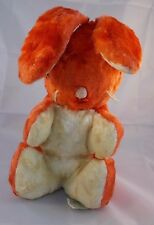 Vintage GUND J. Swedlin Rabbit Orange Bunny Plush 10""