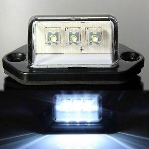 3-LED NUMBER LICENSE PLATE LIGHT INTERIOR STEP LAMP BOAT RV VAN TRUCK TRAILER US