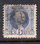 US Stamp 1869, 6c, Scott #115, Used
