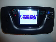 Sega Game Gear Launch Edition Black Handheld System MCWILL lcd mod, vga