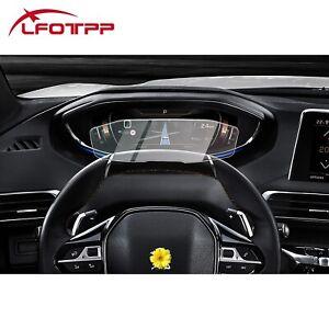 RUIYA Car Dashboard Screen Protector Tempered Glass For 2019 Peugeot 3008 5008