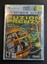 FUZION FRENZY Platinum Hits - Microsoft Xbox - Brand NEW & still factory SEALED