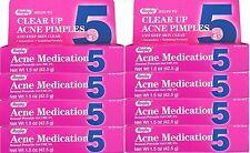 Benzoyl Peroxide 5 %  Generic for Oxy Balance Acne Medication Gel 1.5 oz 8 PACK