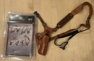 Galco Great Alaskan Shoulder Holster System, Right Hand, Ruger/S&W, Tan, GA170