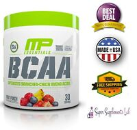 Muscle Pharm BCAA Amino Acids Nutrition Powder Recover Muscles 30 Serv Fruit Mix