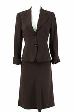 Max Mara Kostüm Gr. XS / 34 Blazer A-Linie Rock Business Suit Jacket Skirt