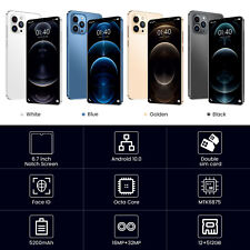 i12 Pro Max SmartPhone 6.7 inch 12GB RAM + 512GB ROM