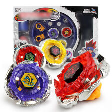 Beyblade Metal Fusion Set 4pcs Beyblades With Launchers Beyblade Arena Constella