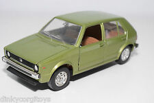 MEBETOYS 8596 VW VOLKSWAGEN GOLF METALLIC GREEN NEAR MINT CONDITION