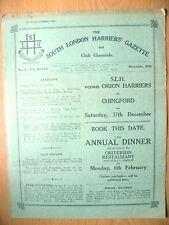 1932 SUD di Londra legate Gazette & CHRONICLE riviste-S.L.H. V ORION legate