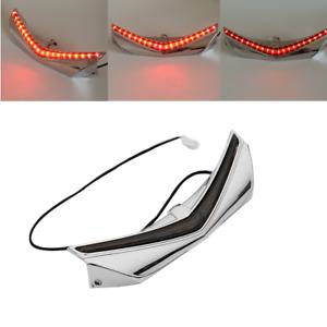 Rear Fender Tip W/ LED Run-Brake Accent Light Fit For Honda Goldwing 1800 12-17