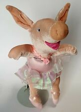 National Geographic Opal Ballerina Pig Plush Soft Toy Stuffed Animal