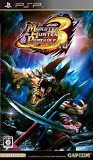 Used PSP Monster Hunter Portable 3rd Import Japan、