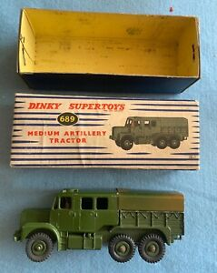 Dinky Supertoys 689 Medium Artillery Tractor Collectable Model with Original Box