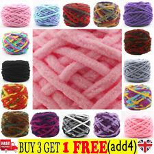 100G skeins yarn Chunky Crochet chenille Milk Soft Baby velvet Knitting Wool HHK